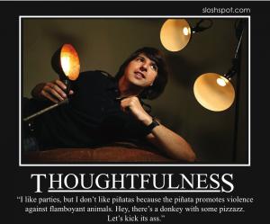 Demetri Martin on Thoughtfulness