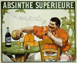 Absinthe Poster - Superieure Cest Ma Sante