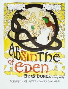 Absinthe Poster - Eden