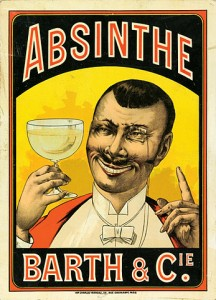 Absinthe Poster - Barth and Cie