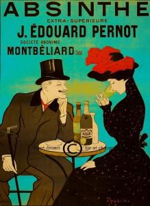 Absinthe Poster - Extra Superieure J Edouard Pernot
