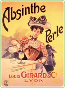 Absinthe Poster - Perle