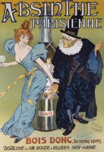 Absinthe Poster - Parisienne