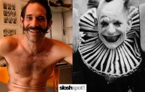 Lon Chaney vs. Dov Charney - Smiling