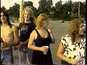 Tailgate Parties Were Fun - It brought back the fans of Heavy Metal Parking Lot