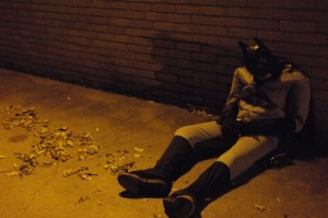 Drunk People Passed Out on Halloween - Bye-Bye Batman