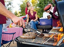 Tailgate Parties Were Fun - It was a chance for families to gather