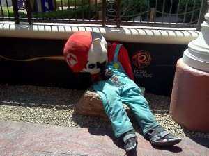 Drunk People Passed Out on Halloween - Gone, Mario, Gone!